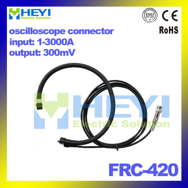 flexible rogowski probe measuring 1-3000A rogowski coil FRC-420 with oscilloscope connector output 300mV ultrasonic twin probe standard probe pt 08b 5mhz 8mm measuring range 1 0 100mm page 5