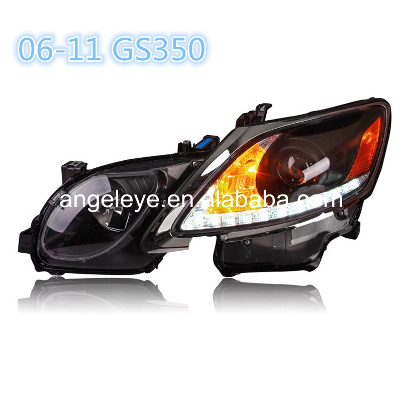 For Lexus GS300 GS350 GS430 GS450 strip 2006-2011 year LED Head Lamp Front Lights SN цена 2017
