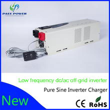 Low frequency pure sine power inverter 24v to 220v 4000W (PS series) hybrid solar low frequncy inverter