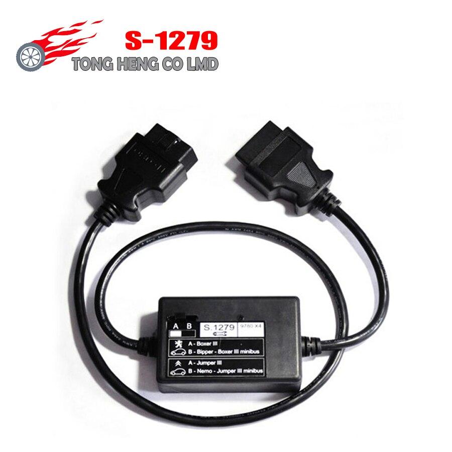 Prix pour Top Qualité S 1279 Interface De Diagnostic Pour Lexia3 PP2000 S.1279 PP2000 S1279 Câble Pour Lexia 3 C-itroen Pe-ugeot