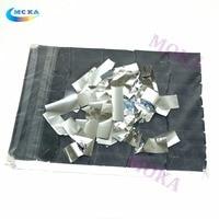2 kg/lote tira de cor Prata Forma Papel Confetes para canhão Confetti máquina de Papel Tissue Decoração para o estágio
