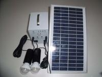 новый дизайн 18 в 5 вт портативный солнечной энергии системы / солнечный генератор маленький с 2 вт из светодиодов лампочка бесплатная доставка DHL в + 20 шт./лот