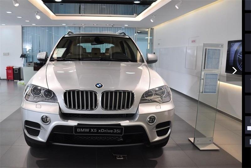 Хромовые Автомобильные Боковые зеркала крышка Зеркало заднего вида Накладка для BMW X5 E70 и 2009 до 2012X6 E71 E72 стайлинга автомобилей 2 шт
