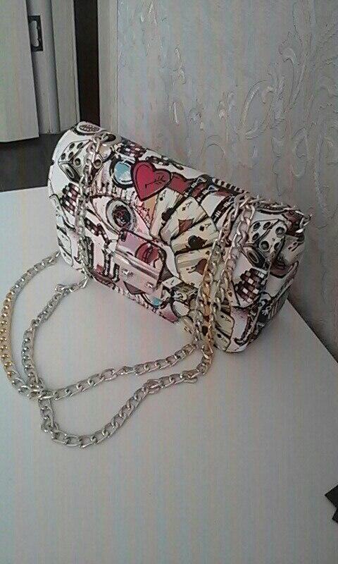 Спасибо! !!очень очень очень? красивая сумочка! я очень довольна!