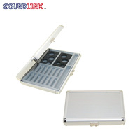 Free Shipping Worldwide Audiologist Choice Earmold And Hearing Aid Presentation Box For Hearing Clinic