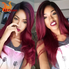 Ombre Full Lace Wig Lace Front Human font b Hair b font Wigs With Baby font