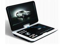 бесплатная доставка + 9 дюймов портативный ДВД плеер с экраном Pot + аналоговый тв