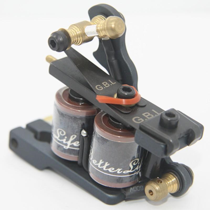 сша отправка новое прибытие железный татуировки пулемет 10 катушки для шейдеров татуировки комплект гбл-ТМ-s003 свободный корабль из сша склад