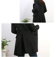 женщины дамы верхней одежды пальто smes шерсть пальто зима пальто одежда д пла