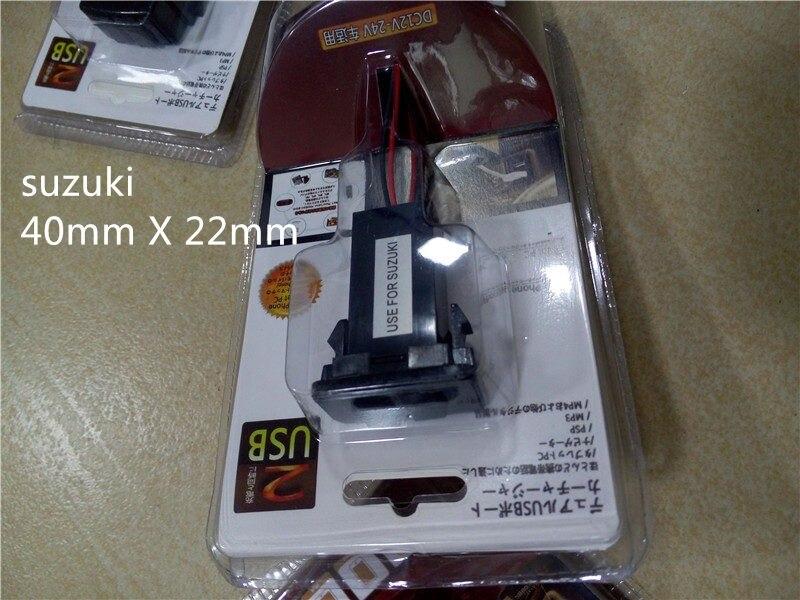 Universal Cargador de Coche de 2 Puertos USB Adaptador cargador Cargadores Para