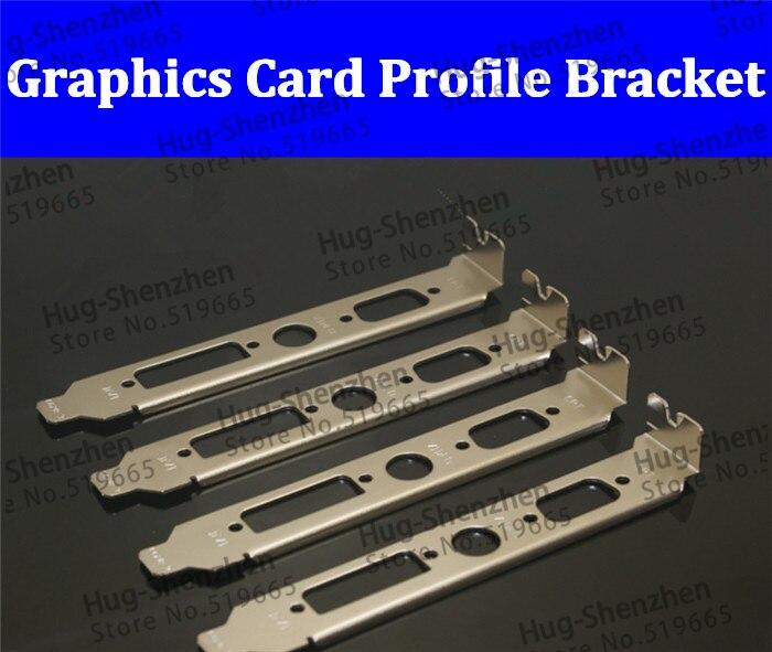 Chassi do Computador Brackert para Gráfica Placa de Vídeo Atacado China Perfil Suporte Crt 12 cm Dvi — 10 Pçs – Lote Pci