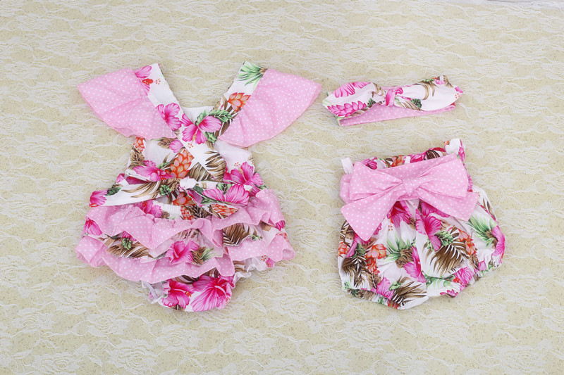 8d5862263 boutique baby romper 2016 new lovely baby girls clothes set newborn ...