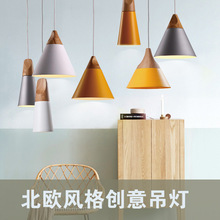 Nordic chandelier bar desk lamp bedroom bedside lamp creative personality Cafe Restaurant simple single-head chandelier MJ211 three bulbs wooden base decoration water pipe desk lamp used for restaurant cafe bar bedroom