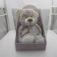 Knited toy Sleeping Comfort Bear Doll Plush Toys Free Shipping