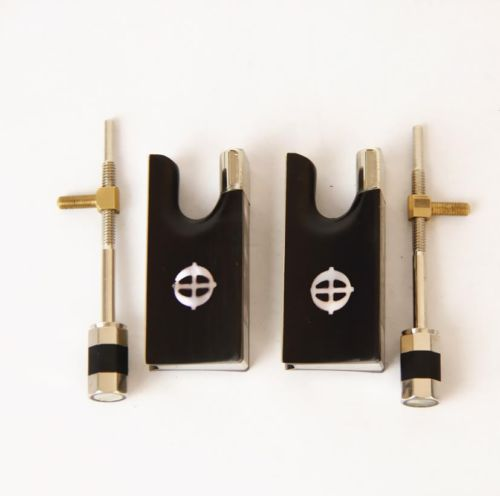 Wholesale 5 Sets Brand New Ebony font b Violin b font 4 4 Bow Frog Ablone