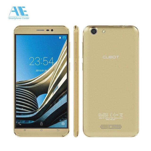 Cubot Note s мобильного телефона MTK6580 Quad Core 4150 мАч 3 г WCDMA 5.5 дюймов HD Экран смартфон 2 г Оперативная память 16 г Встроенная память телефона