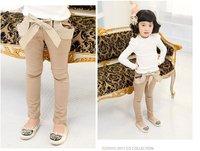 детская одежда детская одежда детская одежда для девочек мода брюки kp003