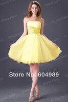 Grace karin Cher / белый / желтый / синий корзину prom платья вышивка пива и потерял все девочки платье коктейль ну полива платье 4097