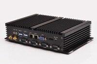 32 Гб SSD Мини ПК 2 Гб ОЗУ, QOTOM I37C4 поддержка 720 P 1080 P Blue Ray HD видео, применяются к домашнему театру, htpc мини ПК с портом rs232