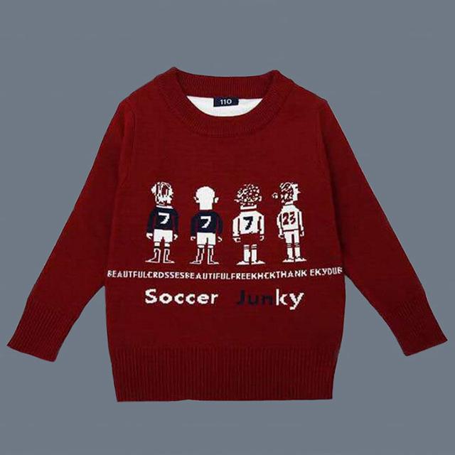 Meninos blusas de malha cardigan sweaters crianças outono & inverno quente meninos pulôveres de algodão crianças outwear crianças traje para 3-10 T