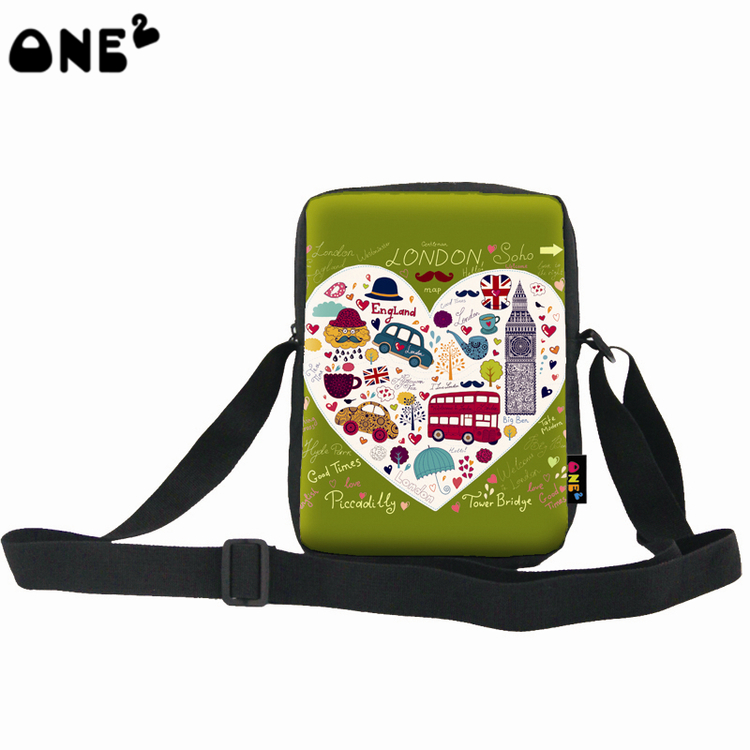 3acc100b2a8 New products wholesale cheap cute printed fashion style hot sale good  quality shoulder bag teenager boys girls children-in Crossbody Bags from  Luggage ...