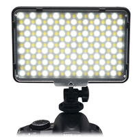 Mcoplus Bi color 198 LED Video Light Lamp 3200K/7500K Color Temperature Adjustment for DV Camcorder & Digital SLR Camera