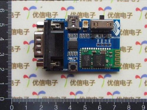 Free Shipping!!! electronic <font><b>Bluetooth</b></font> serial module demo / <font><b>RS232</b></font> serial wireless data transmission module