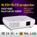 Full HD 1080p digital multimedia RGB LED pocket portable projector