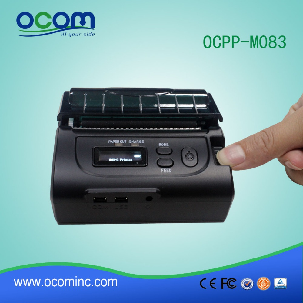 2016 Cheap portable mini bluetooth mobile pos thermal printer-OCPP-M083