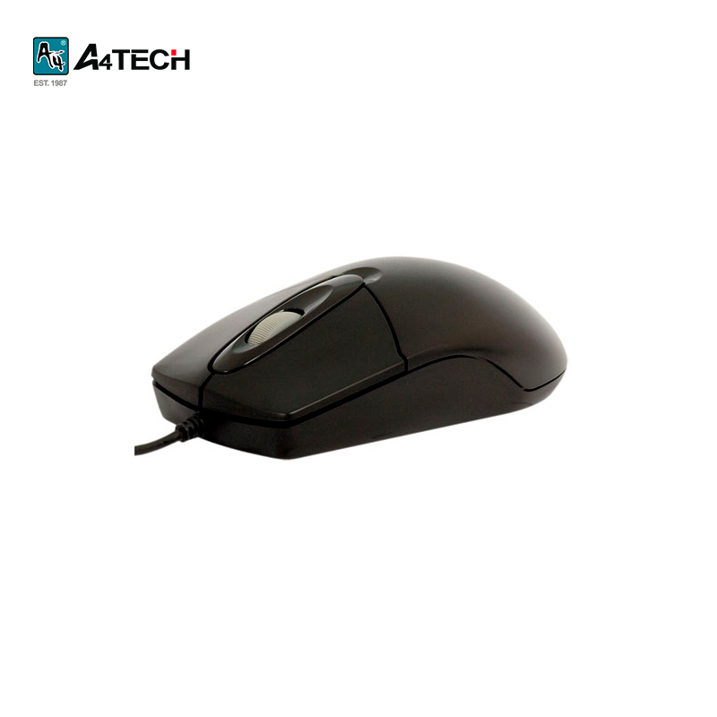 Mouse A4Tech OP-720, black Officeacc цена и фото