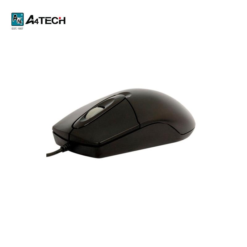 Mouse A4Tech OP-720, Black Officeacc