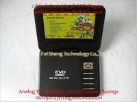 """модель 7.8 """" плюсы 7.8 дюймов портативная для дома DVD-диск плеер с цифровой экран 3д 270 градусов вращения"""