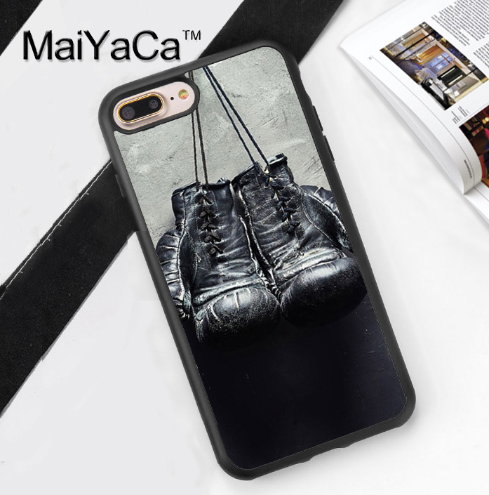 maiyaca boxing gloves printed soft rubber phone cases for. Black Bedroom Furniture Sets. Home Design Ideas