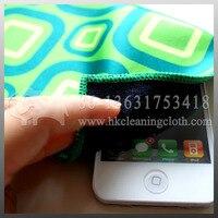 розничная и оптовая продажа с покрытием до скрин протектор ткань Protector potent 100 шт./лот принт в виде логотип для айфона 5 на изображения для печать