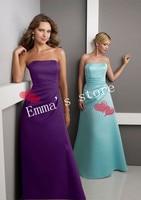 за дизайнер Seal официальный прослеживается без жестокой атлас платья подруги невесты
