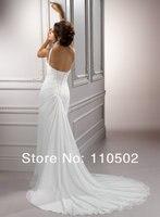 оптовая продажа цена Chef br Seal сторона разрез свадебные свадебные платья