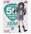 """K-On! 5th Anniversary Azusa Nakano TV Animation PVC Figure Collectible Toy 7"""" 18CM   T3145"""