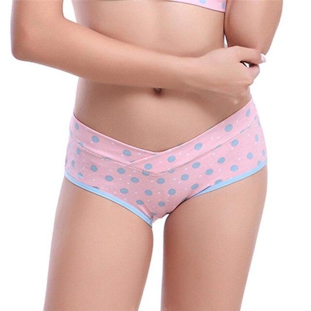 Женские трусы в горошек, трусики для беременных, нижнее белье, трусики