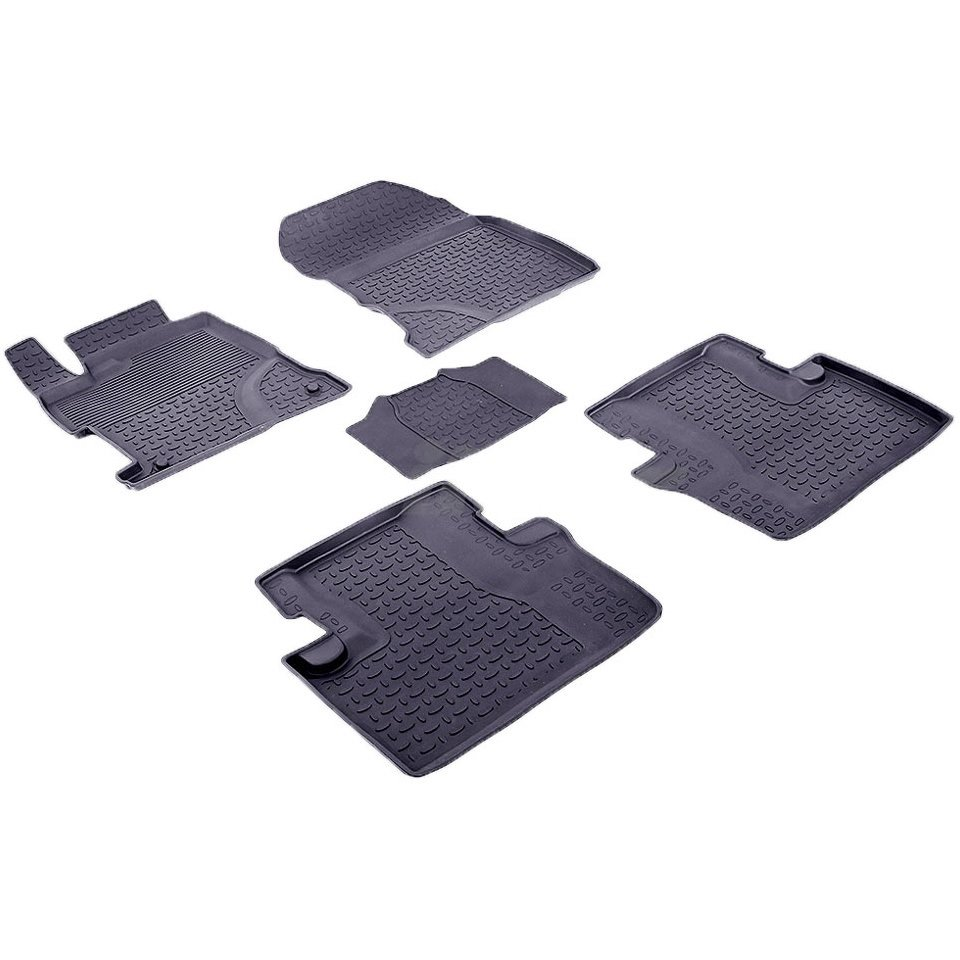 For Honda Civic 9 SEDAN 2012-2016 rubber floor mats into saloon 5 pcs/set Seintex 85082 led rear bumper warning lights car brake lamp cob running light for ford focus 2012 2016 sedan 2012 2014 hatchback one pair