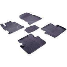 Для Honda Civic 9 СЕДАН 2012-2016 резиновые коврики с высокими бортиками Seintex 85082