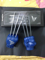 super hero X Men Wolverine claws Hugh Jackman Toy claws Wolf Paw Gloves Cosplay Costume