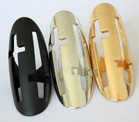 смешайте минимальный заказ $ 16. оптовая продажа новое поступление выдалбливают крест кольцо, есть три цвета