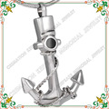 CMJ8201 Top sale stainless steel cremation jewelry shiny silver anchor shape ash urn pendant necklace collar colgante