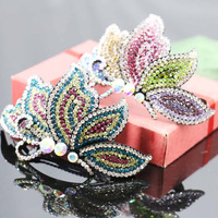 52 93mm Bridal Wedding Headdress Headband Head Bands Headpiece Crystal Hair Accessory For Women Girls Jewelry