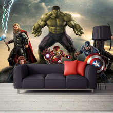 Custom Mural 3D Cartoon Science Fiction Character Photo Wall Paper for Kids Room Bar Living Room Wall Decor Non-woven Wallpaper