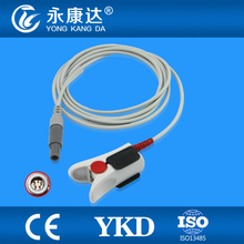 Biolight for M6/M12 and  Carewell CPM-9000 Adult  Finger Clip Spo2 Sensor