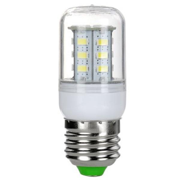 10PCS/lots E27 E14 SMD 5730 3W 4W Corn Light Bulb Lamp AC 110V 220V 230V Cold warm white,