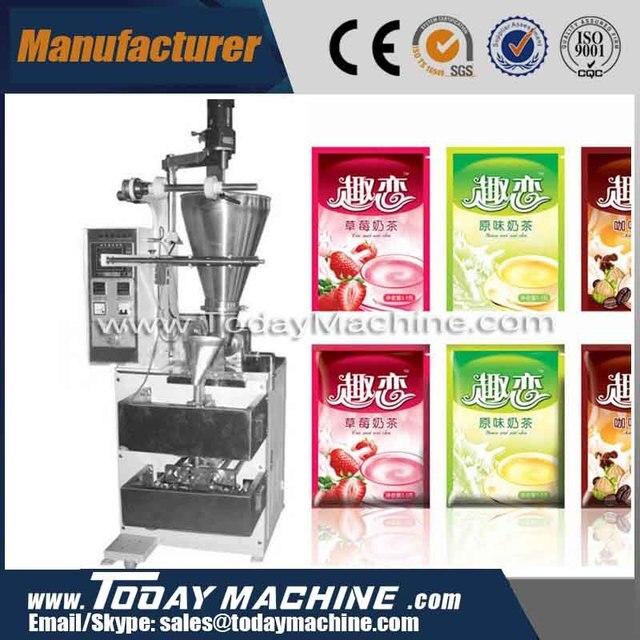 relay Milk tea powder Vertical packing machine/ flour packing machine/instant coffee packing machine