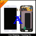Envío gratis + 100% probado Original para Samsung Galaxy S6 G920f G920i G920A G920K LCD digitalizador asamblea blanco