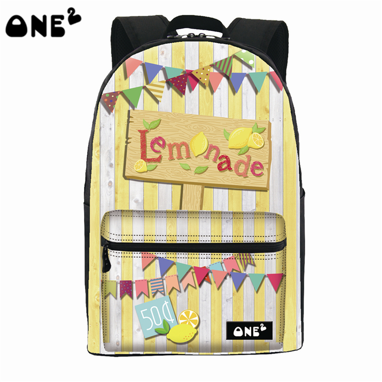 5ffbb76288 2016 ONE2 new design candy pattern computer backpack Chinese school  backpack girl school backpack South Korea Backpack-in School Bags from  Luggage   Bags on ...